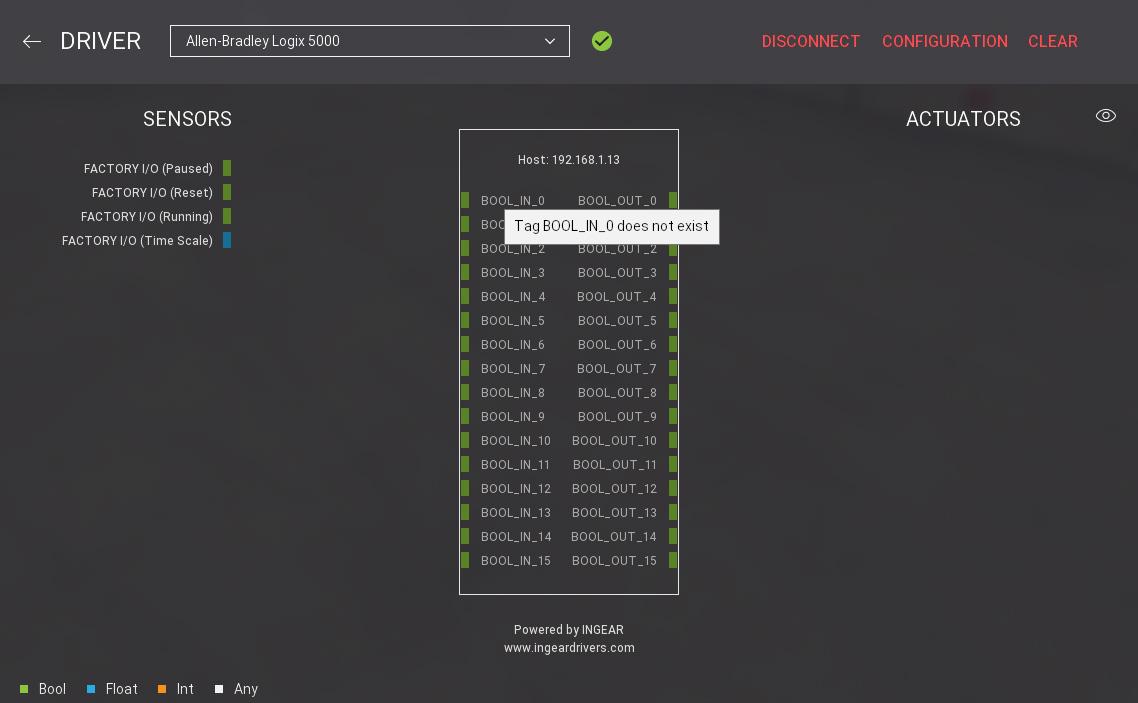 Setting up Logix5000 - FACTORY I/O