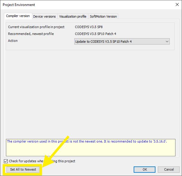 Sample: CODESYS Modbus TCP - FACTORY I/O