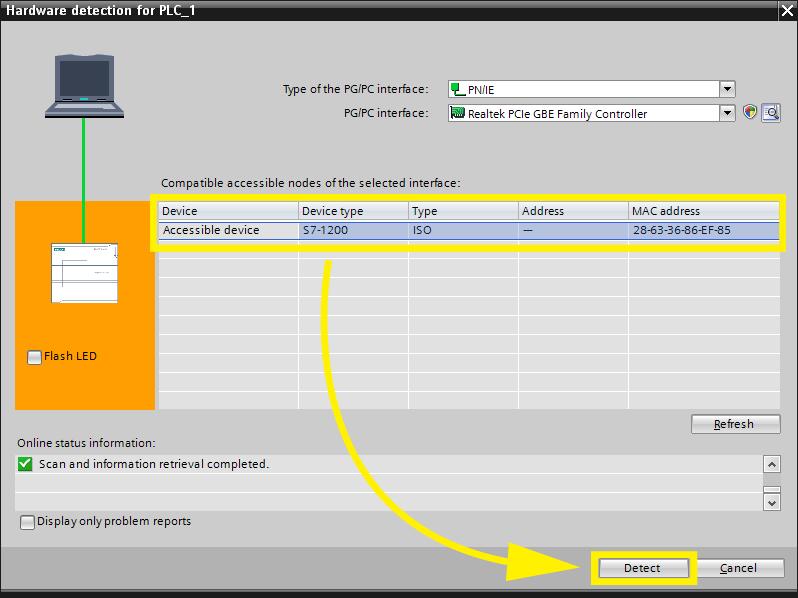 Setting up S7-1200/1500 - FACTORY I/O